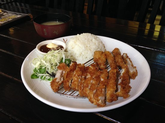 Chicken Katsu Meal Picture Of Tj Katsu Wellington Tripadvisor