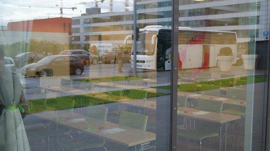 Roomz Vienna: Конференц возможности (вид с улицы)