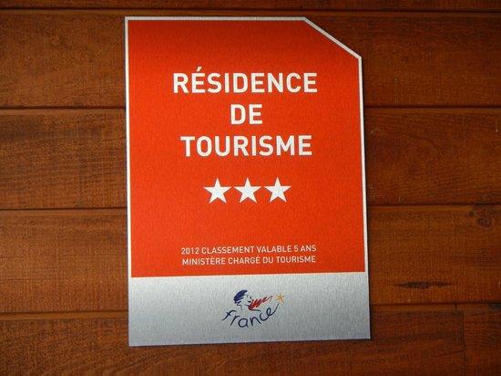 Apartamentos Pierre & Vacances e Montana: nombre d'étoiles