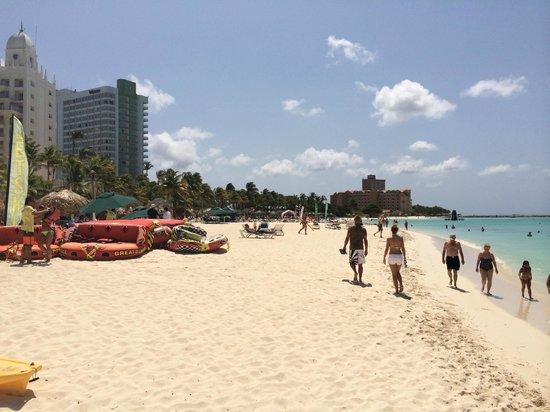 Hotel Riu Palace Aruba: strand