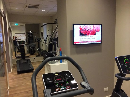 Best Western Plus Hotel Felice Casati: Gym