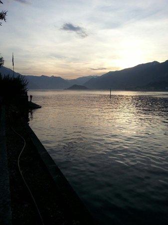 Hotel Monte Codeno: Attesa traghetto
