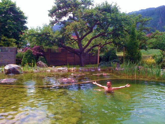 Ried im Oberinntal, ออสเตรีย: Il laghetto interno