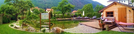 Gartenhotel Linde: paesaggi