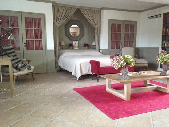 Le Chateau De Courban & Spa Nuxe : Prestige Room