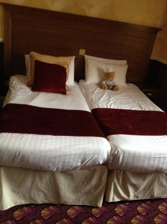 Best Western Hallmark Hotel Liverpool Feathers: Superior room apparently