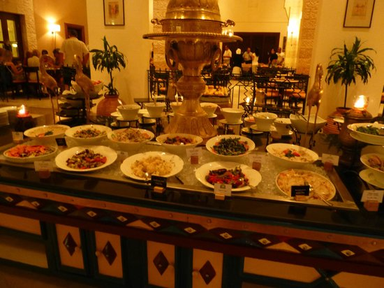 Movenpick Resort Petra : La cucina a buffet