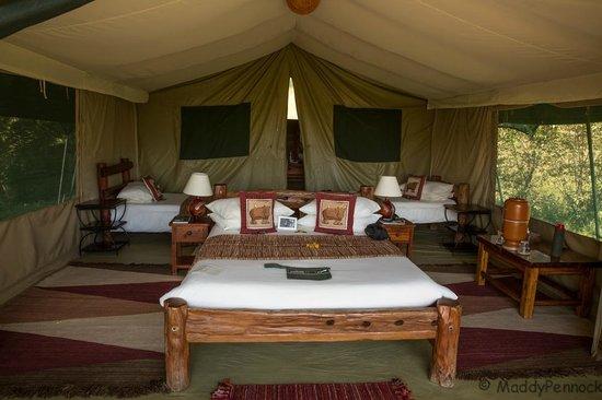 Kicheche Mara Camp: Our tent!