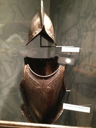 Timucuan Ecological & Historical Preserve: Authentic French armor