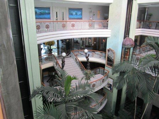 Jardines de Nivaria - Adrian Hoteles: View overlooking reception area