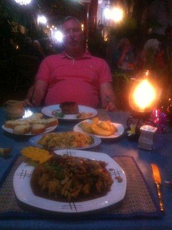 Oriental Thai-European Restaurant: meal