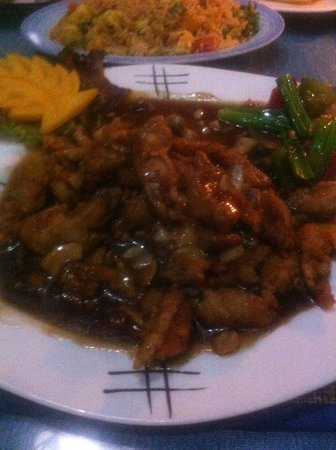 Oriental Thai-European Restaurant: chicken and cashew