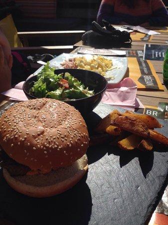Action Sport : Hamburger et potatoes!!!