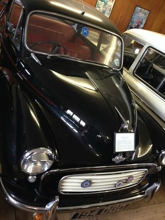 Myreton Motor Museum: Lovely Morris Minor, fully restored.