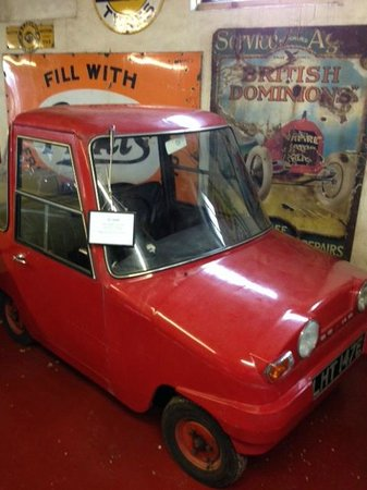 Myreton Motor Museum: Scotland's own electric car