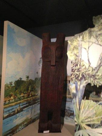 Fort Caroline National Memorial: Hontoon Island Owl Statue