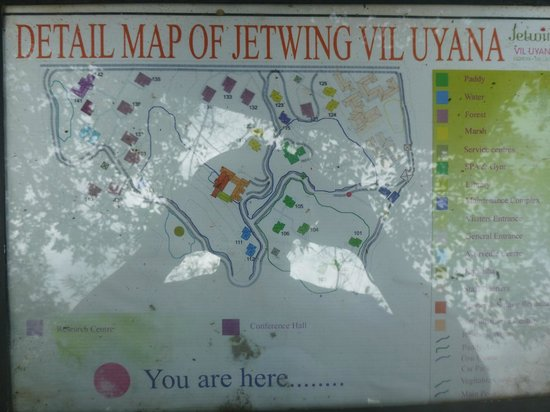 Jetwing Vil Uyana: Map