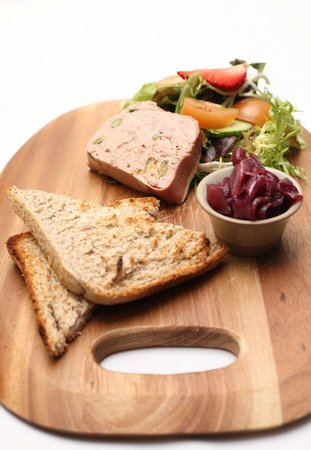 Lastra Farm Hotel & Restaurant: Duck Terrine