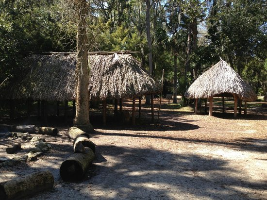 Fountain of Youth Archaeological Park: Timucua Indian Village Huts