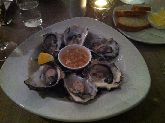 Anchor Hotel: Oysters