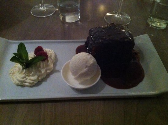 Anchor Hotel: Sticky toffee pud