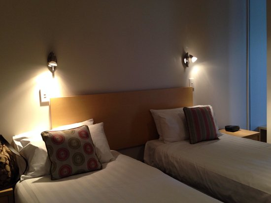 Quest Christchurch : beds