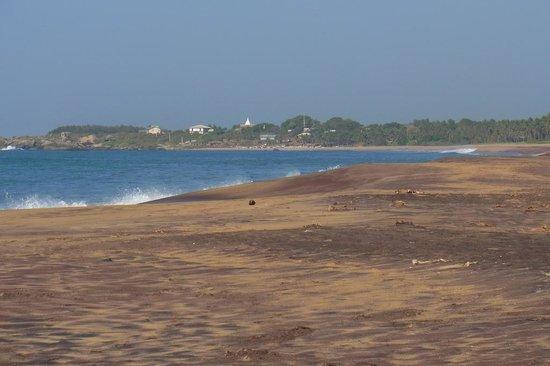The Oasis Ayurveda Beach Hotel: Strand