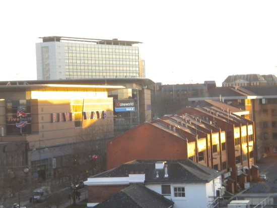 Novotel Birmingham Centre: View from room on 6th floor - early morning