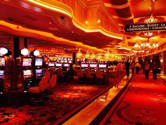Wynn Las Vegas: Игровой зал у главного входа.