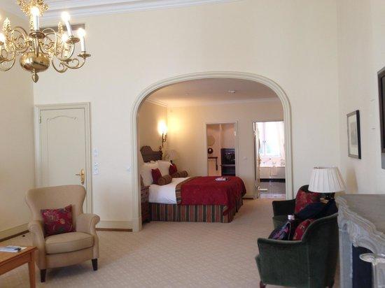 Fairmont Hotel Vier Jahreszeiten: Panoramic view