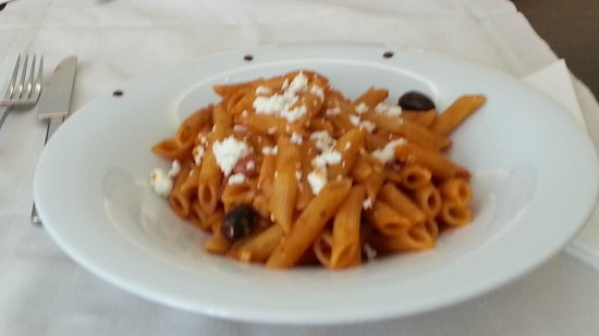 O&B Athens Boutique Hotel : Greek Pasta
