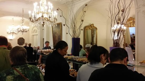 NH Firenze Anglo American : Breakfast area