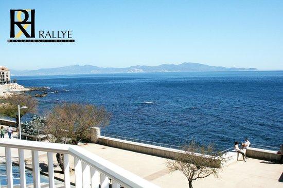 Rallye Hotel: Balcony sea views