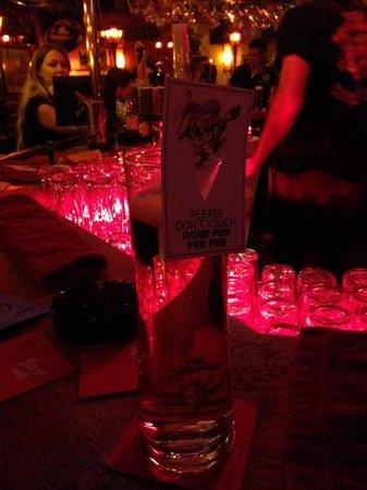 Londoner: Drink tag