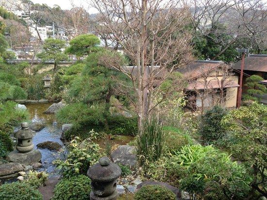 Sakuragaokasaryo: お部屋からの眺め 「小紫」