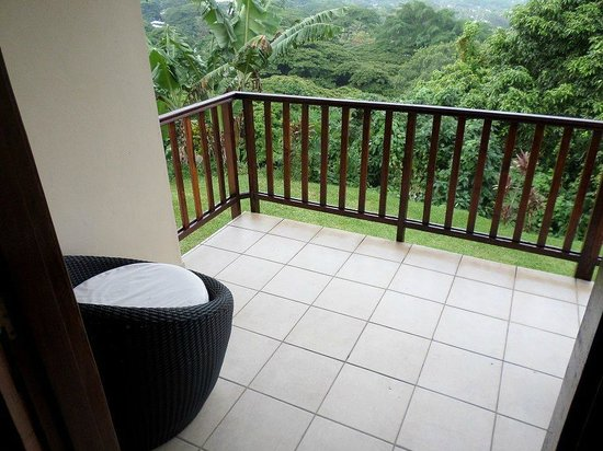 Mangoes Resort : Balcony view