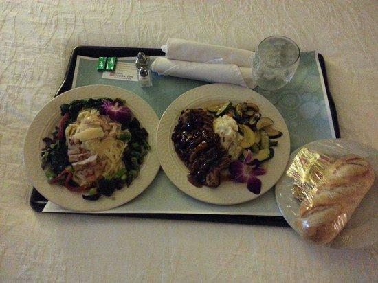 Hilton Garden Inn Houston / Sugar Land: Perfect room service!!