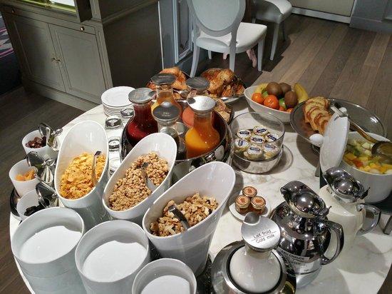 La Maison Favart: breakfast
