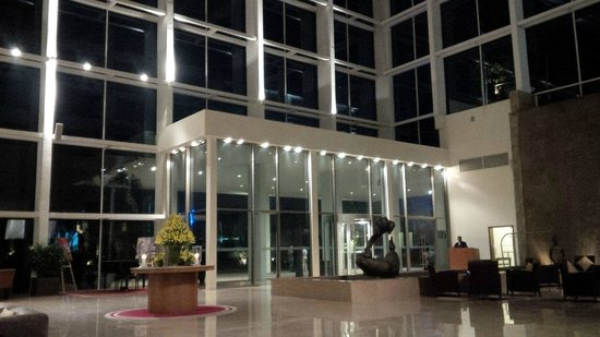 Radisson Blu Plaza Hotel Hyderabad Banjara Hills: the lobby