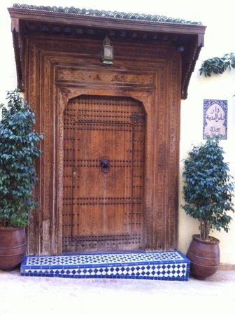 Dar Fes Medina : La porte d'entrée extérieure