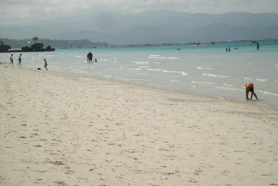 Other view of White Beach