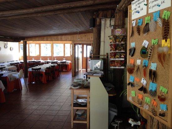 Restaurant Can Castellví : Menjador