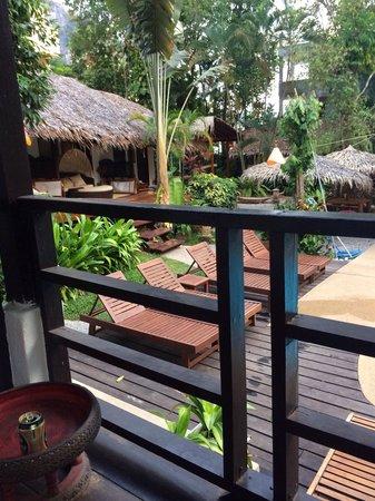 Aonang Tropical Resort: Outside of room