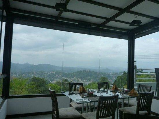 Theva Residency : View from restaurant