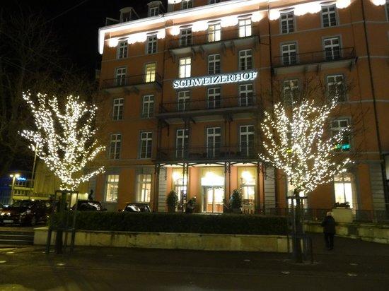 Hotel Schweizerhof Basel : Tolles Ambiente