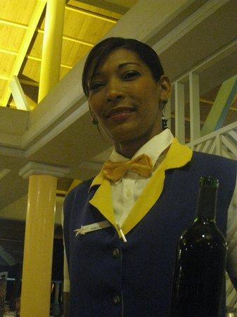 Iberostar Bavaro Suites: Arelys,trés bonne serveuse.
