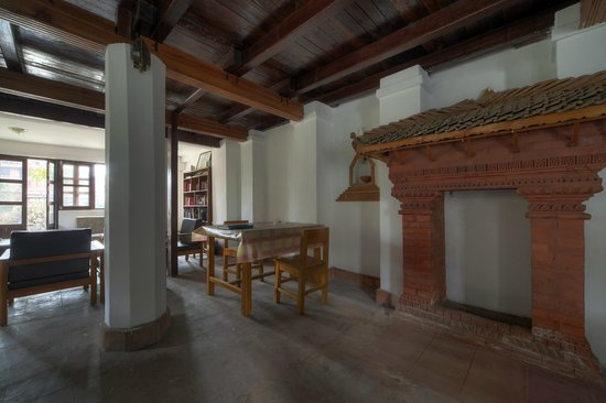 Krishna's House: Aufenthaltsraum
