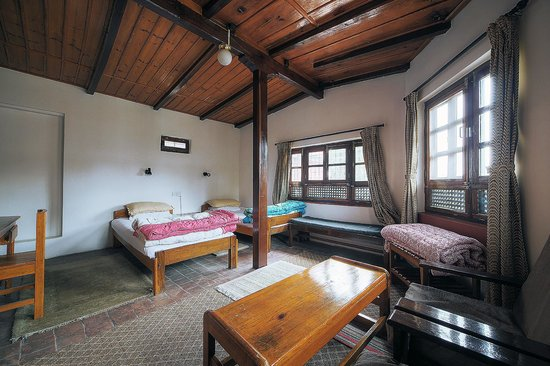 Krishna's House: Zimmer