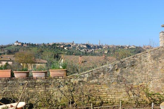 Frances' Lodge Relais: Frances Lodge Siena East Hills overlooking Siena