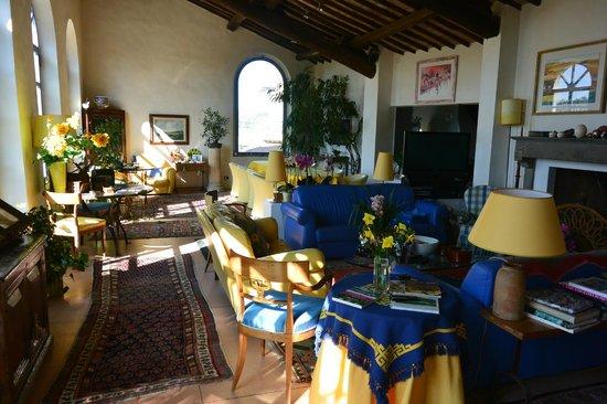 Frances' Lodge Relais: Lodge Area off Garden